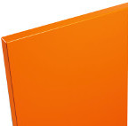 Farbmuster ORANGE PIXI