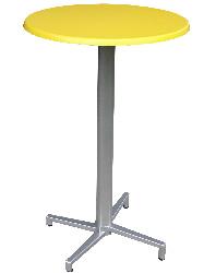 Domingo mit Tischplatte SM 70 gelb