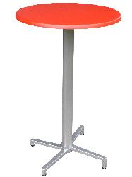 Domingo mit Tischplatte SM 70 rot