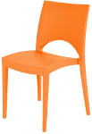 Stuhl SPRING in Farbe Orange