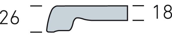 Profil Tischplatte