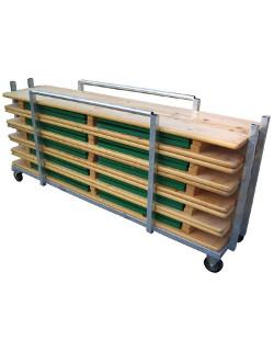 Transportwagen für Bierzeltgarnituren