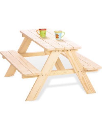 gartentisch f r kinder kindergeburtstag und spieltisch. Black Bedroom Furniture Sets. Home Design Ideas