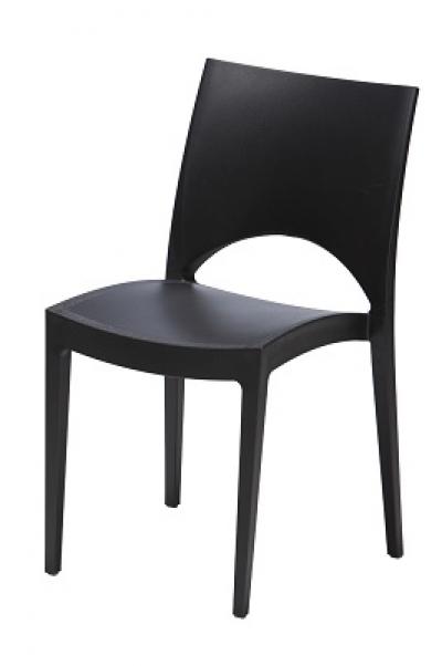 tisch stuhlspring stuhl schwarz weiss. Black Bedroom Furniture Sets. Home Design Ideas