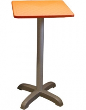 FB-Nr. 105: Stehtisch Trentino orange 70x70